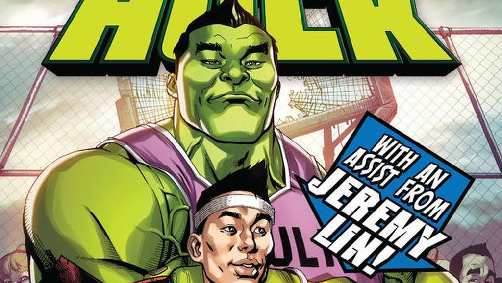 Pebasket Profesional Jeremy Lin Muncul di Komik The Totally Awesome Hulk #3
