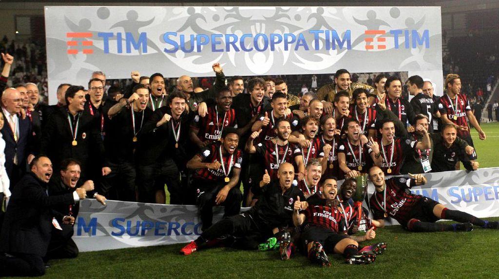 AC Milan Juara Piala Super Italia