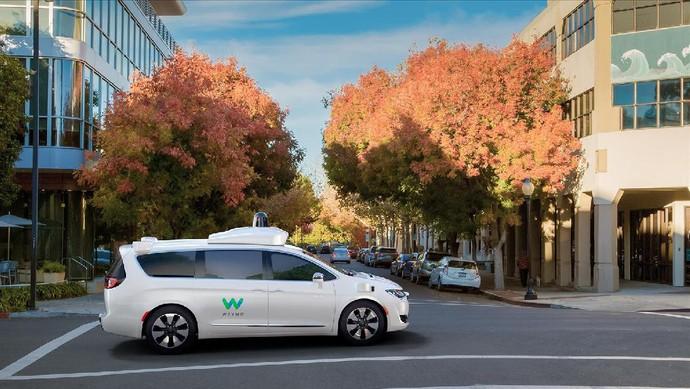 Waymo, Mobil Otonom Google