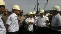 Menteri BUMN dan Menhub Cek Pembangunan Dermaga 6 Pelabuhan Merak