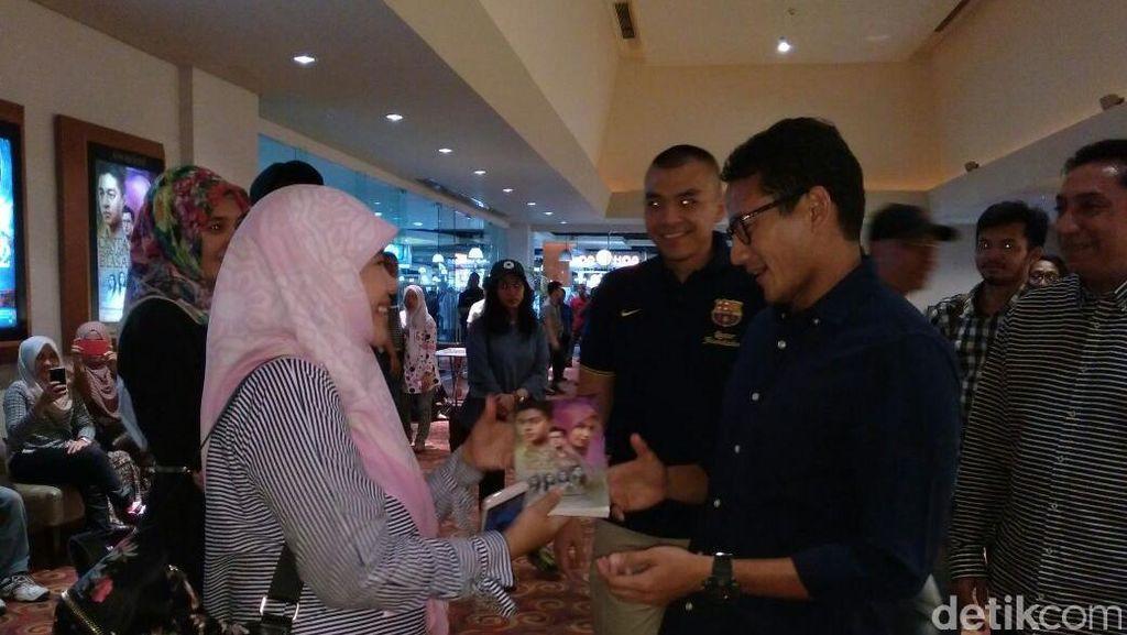 Nonton Film Indonesia, Sandiaga: Ini Tak Ada Hubungan dengan Kampanye