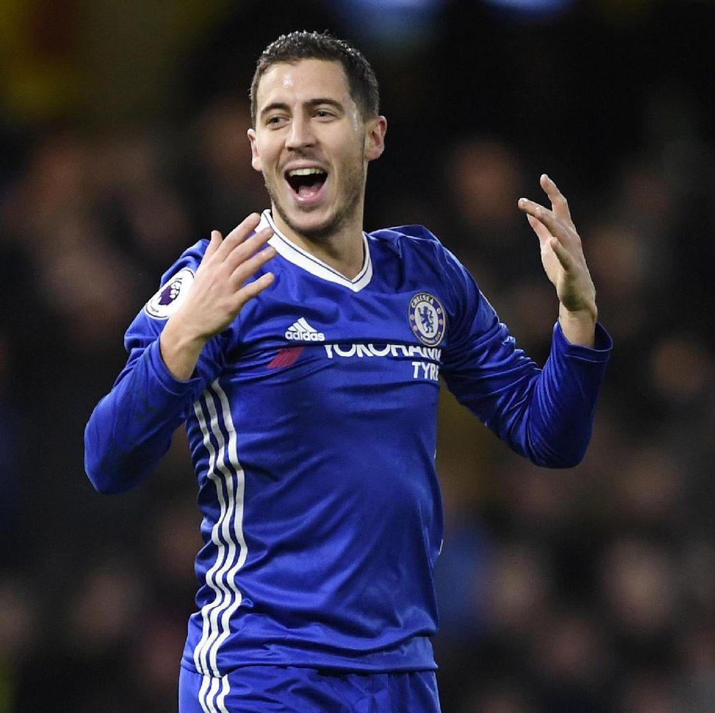 Hazard: Tim-Tim yang Datang ke Stamford Bridge Kalah Sebelum Bertanding