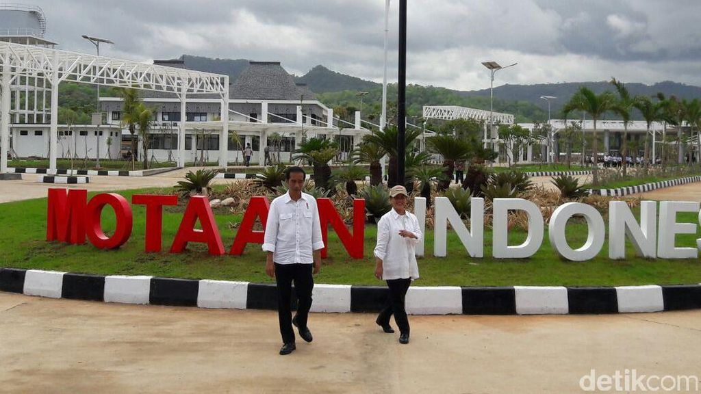 Jokowi Sebut PLBN Motaain Jadi Tempat Selfie, Ini Penampakannya