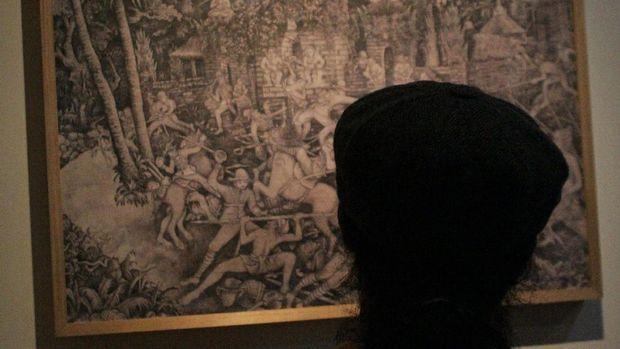 Pameran Lukisan I Gusti Made Deblong Ramaikan Denpasar Festival 2016