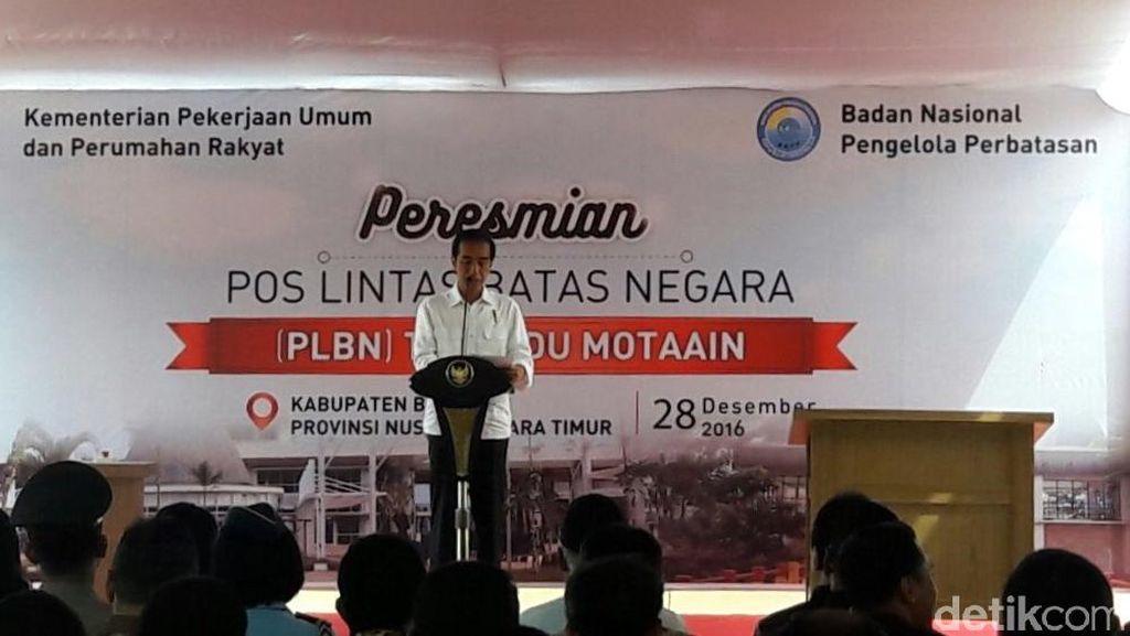 Kunjungan ke NTT, Jokowi: Air Jadi Kunci Pertumbuhan Daerah Ini
