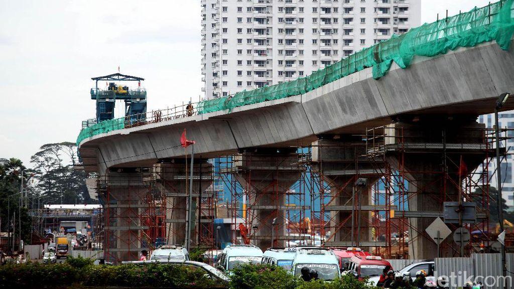 Kondisi Terkini Pembangunan MRT di Lebak Bulus