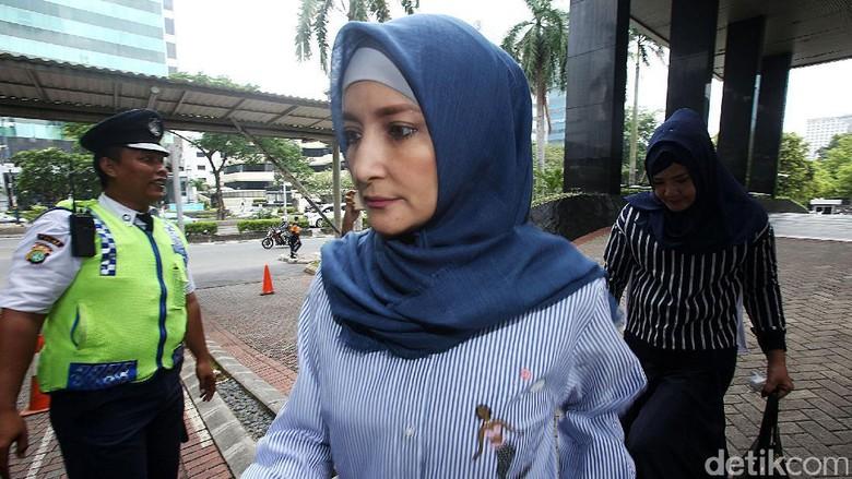 Datangi KPK, Inneke Izin Jenguk Suami di Rutan Guntur
