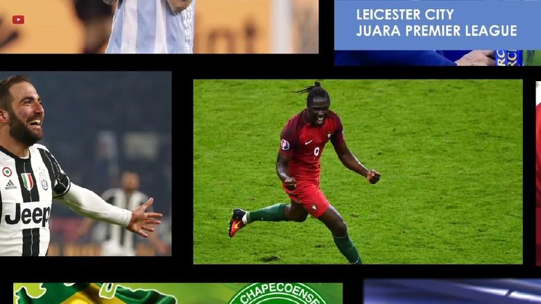 Kilas Balik Momen Sepak Bola Terbesar 2016