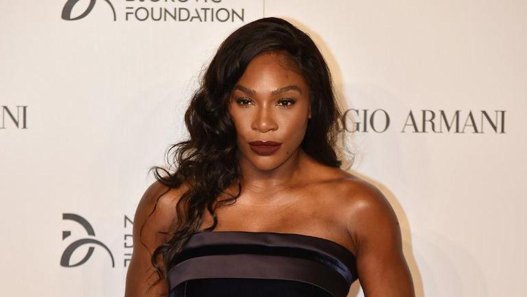 Hamil Besar, Serena Williams Pose Tanpa Busana di Cover Vanity Fair