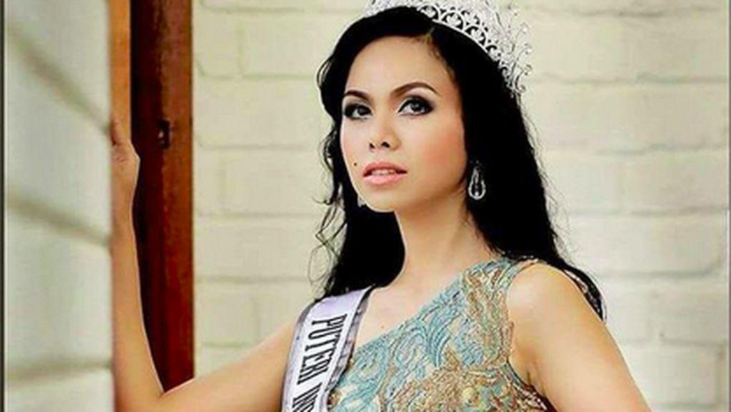 Jean Patty, Puteri Indonesia Maluku 2016 Pakai Mahkota Saat Disemayamkan