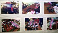 Senjata dan barang bukti yang diamankan dari tangan Ramlan Cs di Sukabumi.