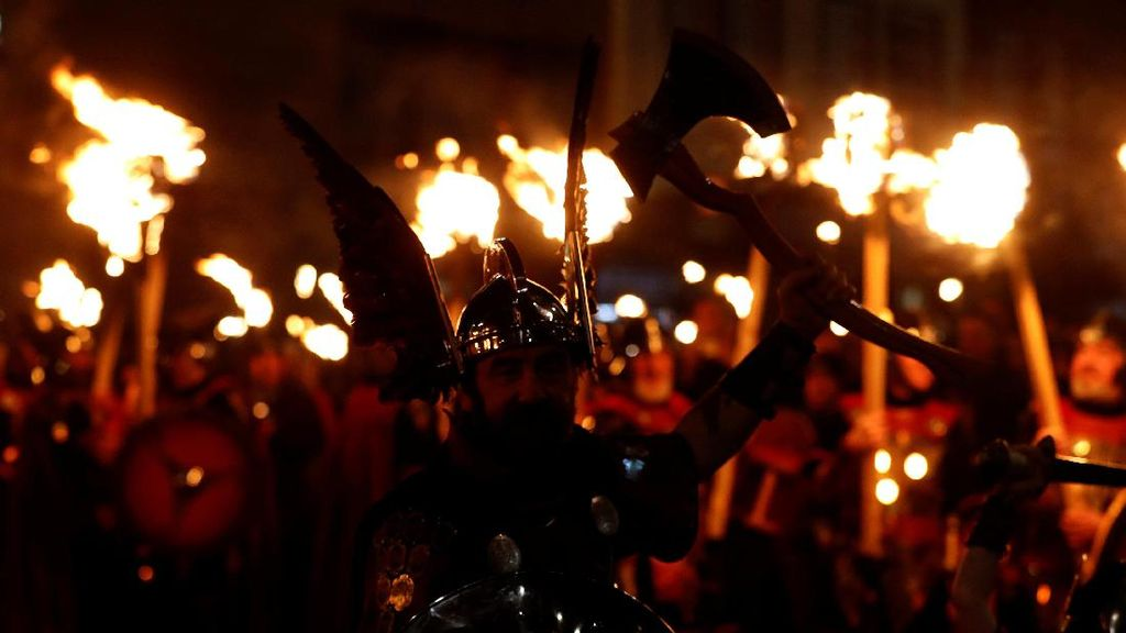 Merayakan Tahun Baru Ala Pasukan Viking
