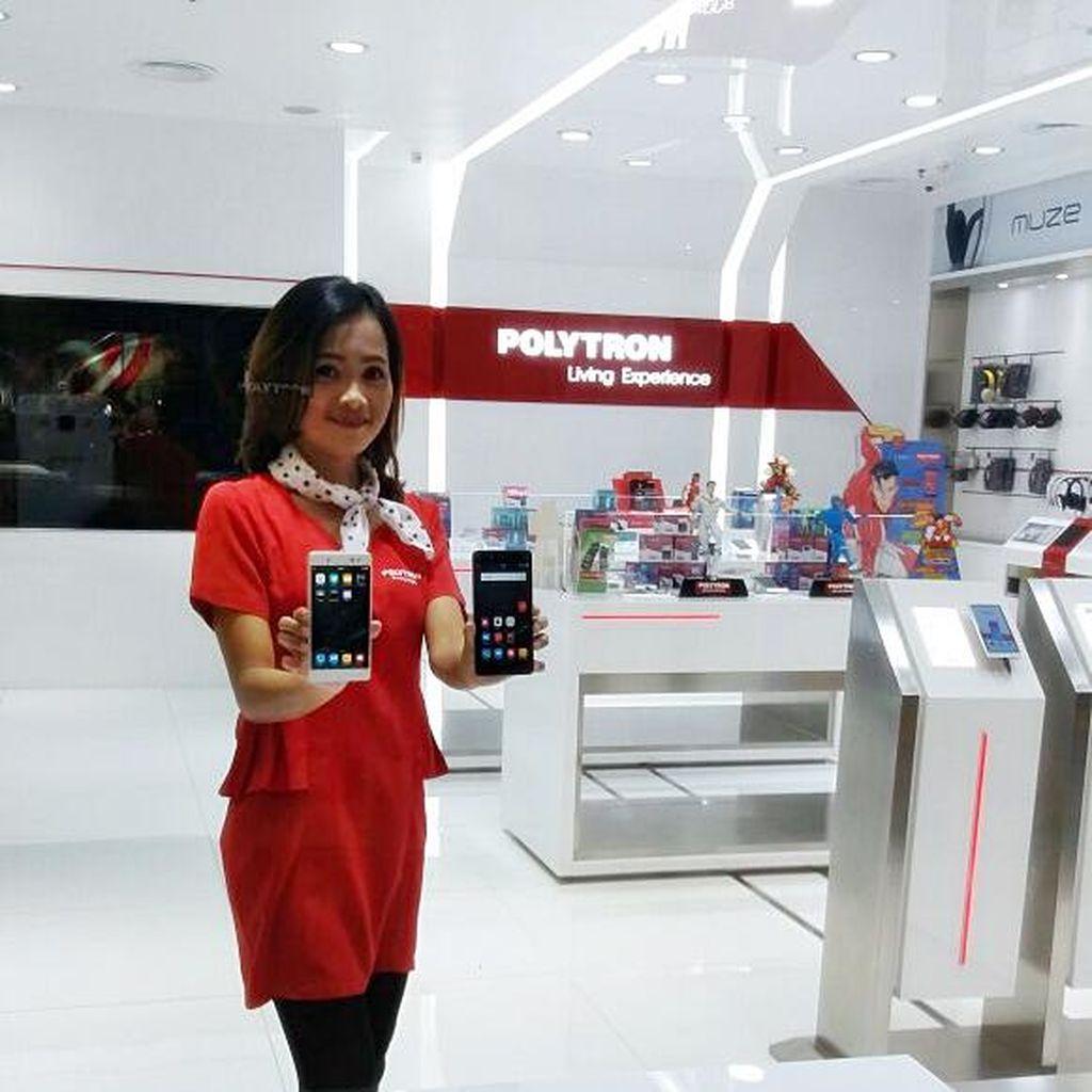 Ponsel 4G Polytron Gunakan 21% Konten Lokal