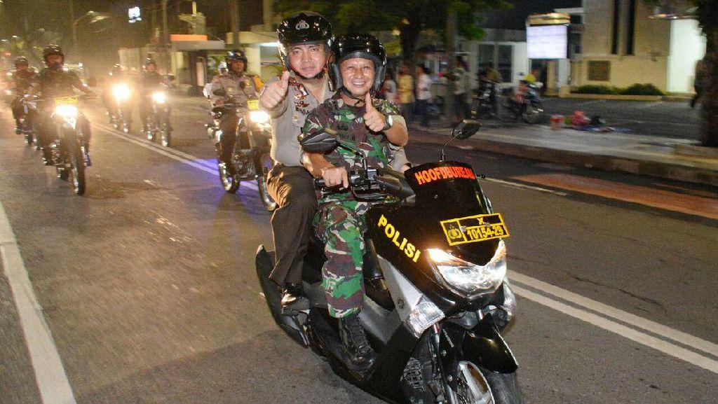 Malam Tahun Baru Aman, Polisi: Terima Kasih Warga Surabaya