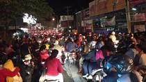 Imbas Kecelakaan KA dan Pejalan Kaki, Lalin di Pasar Minggu Macet