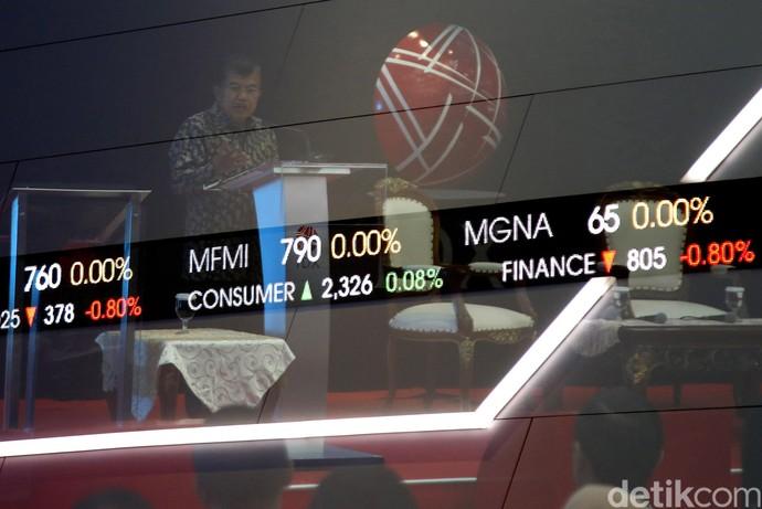Wapres JK Buka Perdagangan Bursa 2017