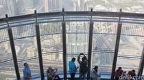 Pemandangan dari Gedung Tertinggi Sedunia, Burj Khalifa