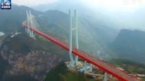 Jembatan Tertinggi di Dunia Mulai Dibuka