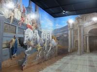Foto: Lukisan 3D di museum ini dilukis oleh 15 orang seniman, 10 seniman di antaranya berasal dari lokal Bandung, sekitar Jalan Braga, sementara sisanya 5 orang didatangkan langsung dari Korea. Traveler yang tertarik mencoba langsung saja meluncur ke Bandung ya! (Avitia/detikTravel)