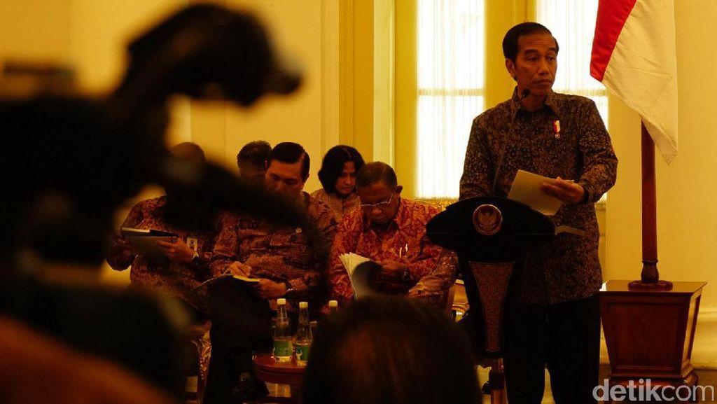 Jokowi Kumpulkan Para Menteri, Bahas Hilirisasi Mineral