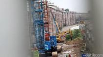 Proyek LRT Jabodebek Dikebut