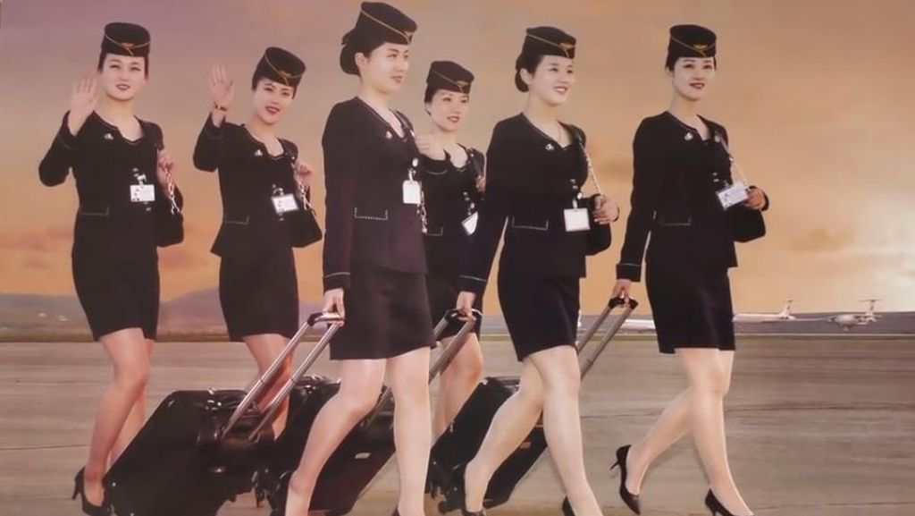 Tarik Wisman, Maskapai Korea Utara Buat Kalender Pramugari Seksi