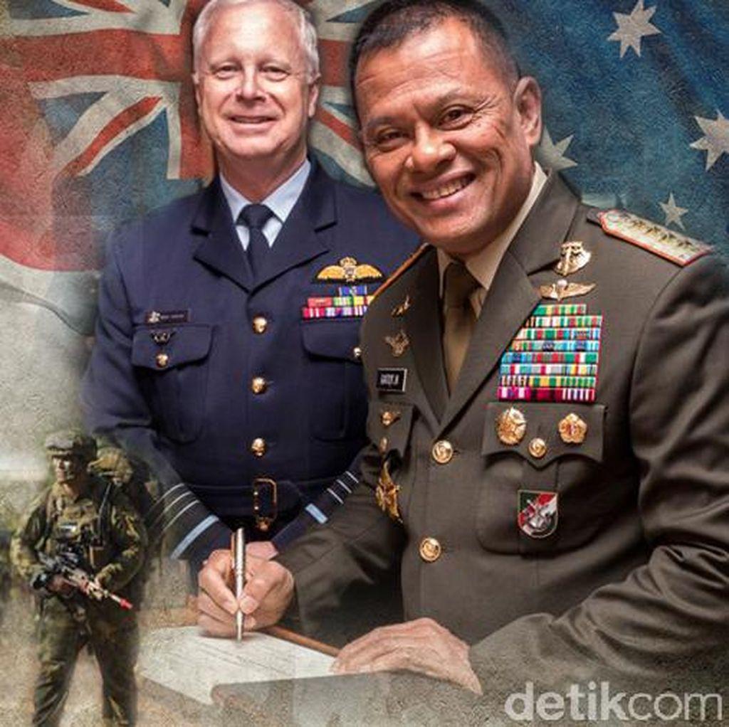 Kembali Latihan Militer Bareng Australia, TNI: Kami Sambut Baik
