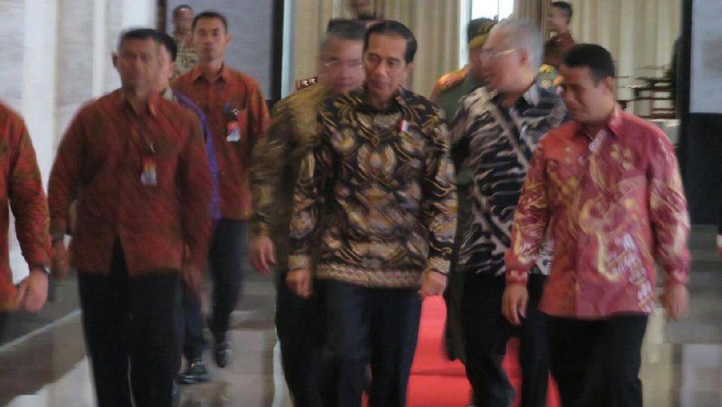 Jokowi Hadiri Rakornas Kementan