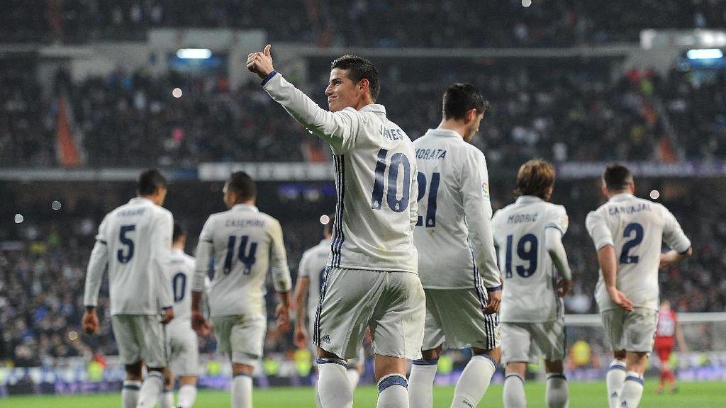 Terima Kasih James kepada Fans Madrid