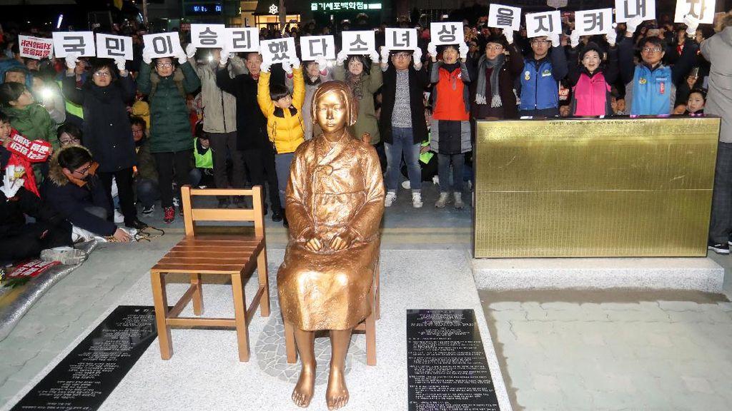 Jepang Tarik Dubes dari Korsel Terkait Patung Wanita Penghibur