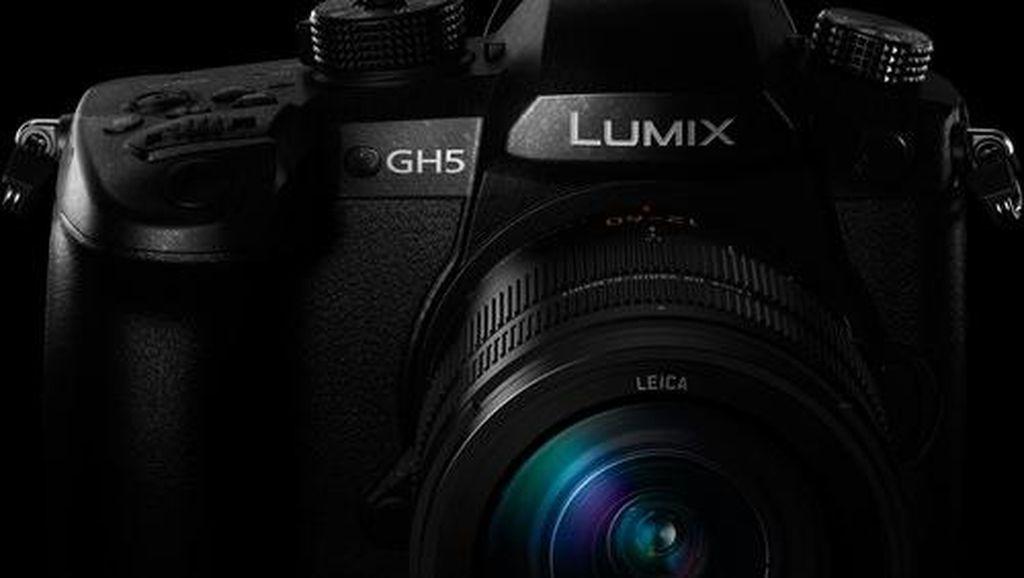 Lumix GH5, Kamera Anyar Panasonic Seharga Rp 26 Juta
