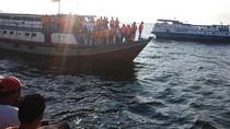 KM Mutiara Sentosa I Terombang-ambing Berjam-jam, Penumpang Telantar