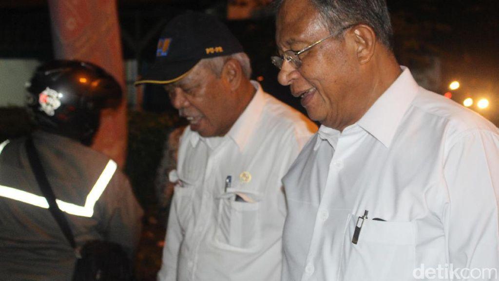 Cek Irigasi di Sidoarjo, Darmin: Lahan Sawah Harus Dipertahankan