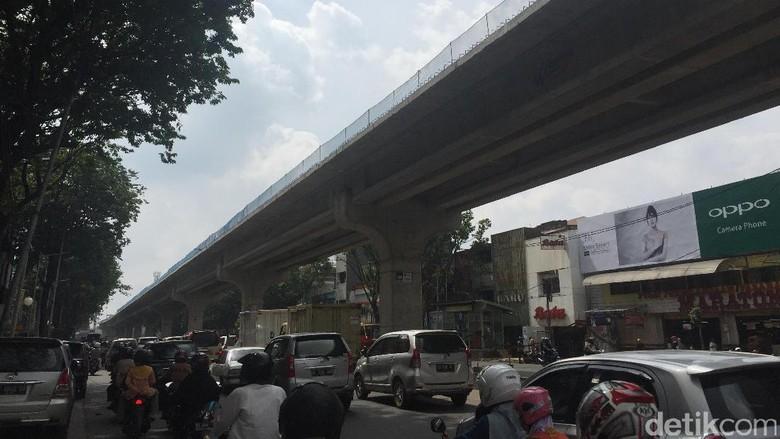 Waskita Jamin Proyek LRT Palembang Rampung Tiga Bulan Lebih Awal