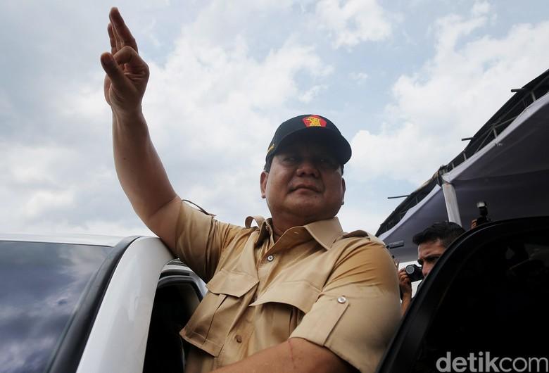 Prabowo: Hanya Kecurangan Besar yang Bisa Kalahkan Anies-Sandi
