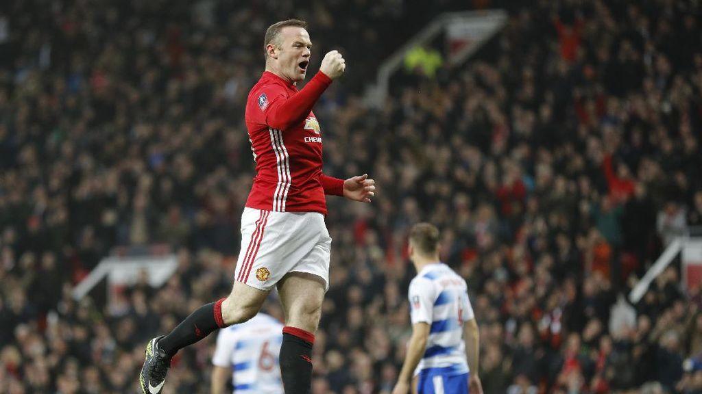 Rooney Belum Pikirkan Soal Masa Depannya di MU