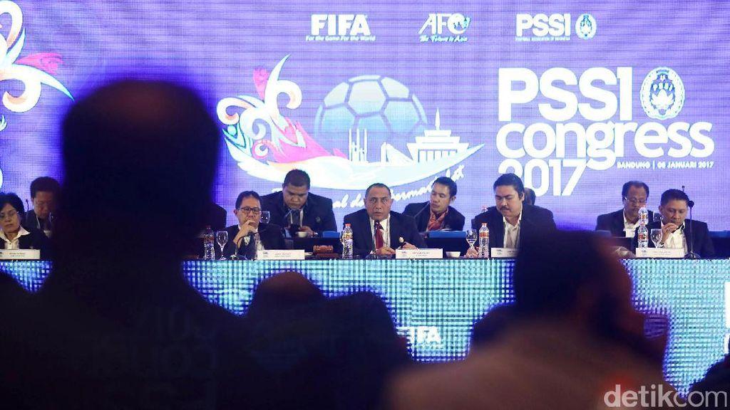 Beredar Daftar Susunan Kepengurusan PSSI