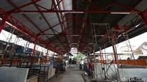 Pembangunan Sentra Kuliner Pasar Inpres