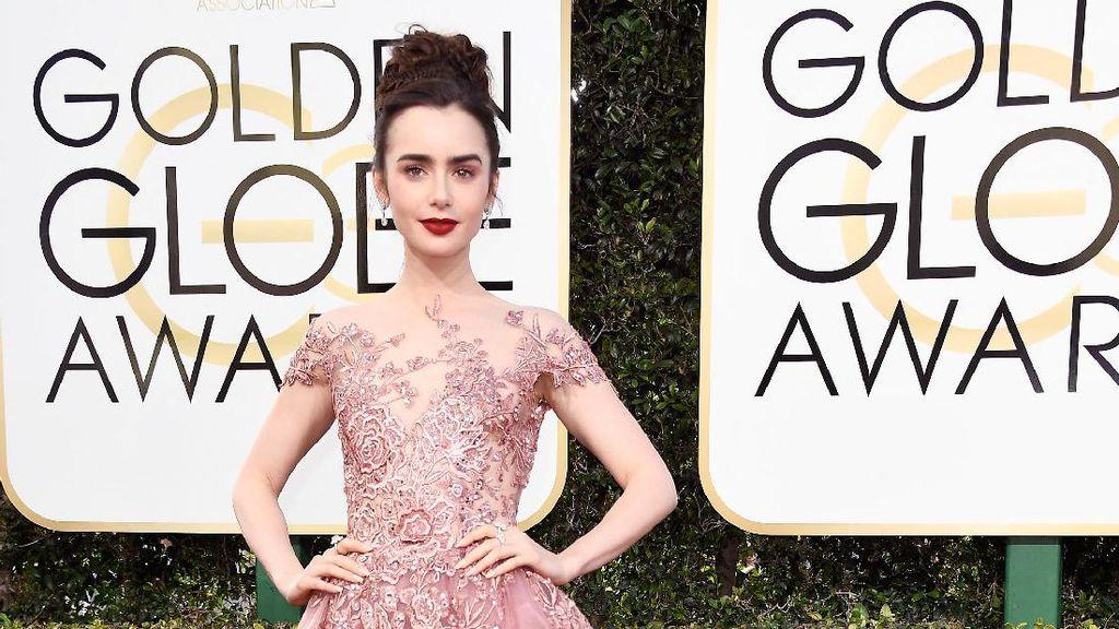 10 Selebriti dengan Gaun Terbaik di Golden Globes 2017
