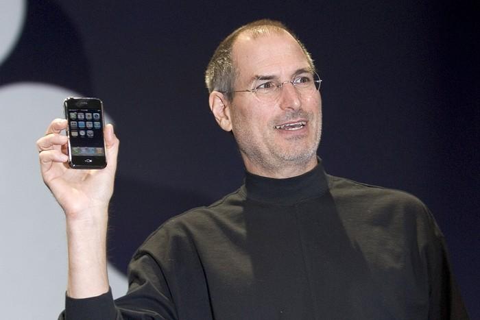 Peluncuran iPhone pertama (Foto: David Paul Morris/Getty Images)