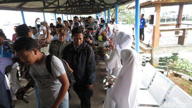 Aa Gym Tiba di Pulau Pramuka, Akan Pimpin Tabligh Akbar