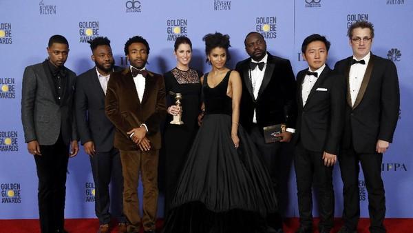 Atlanta Menangkan Golden Globe Pertamanya