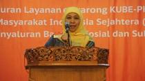 Lapor ke Jokowi, Mensos Siap Cairkan Bantuan Pangan Non Tunai