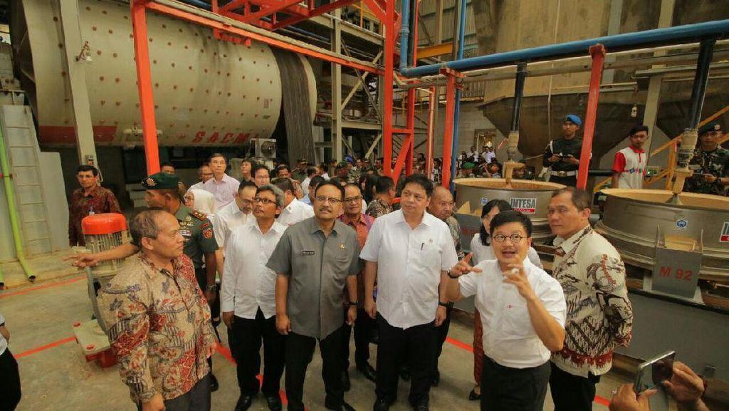 PGN Salurkan Gas Bumi ke Pabrik Keramik di Mojokerto