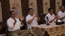 Prabowo, Anies dan Sandiaga Datangi Kediaman Ical