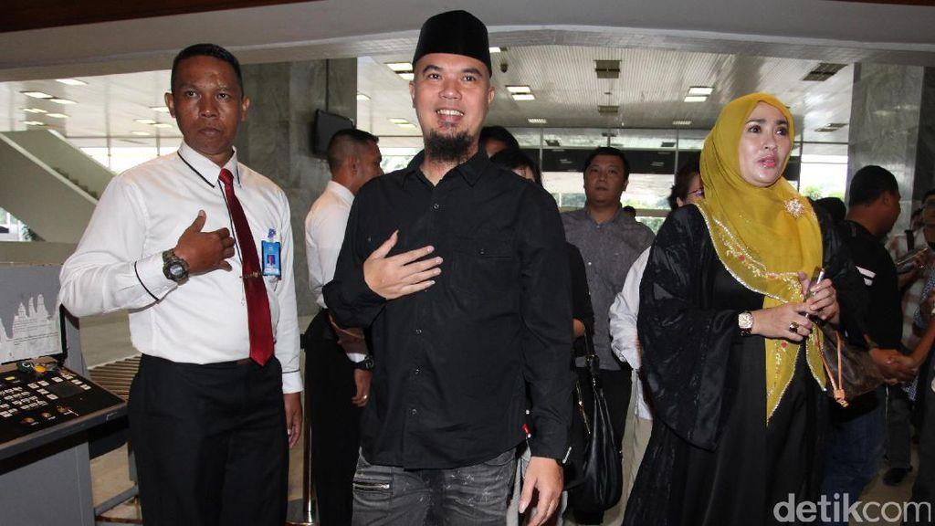 Ahmad Dhani Dipolisikan Relawan Ahok karena Cuitan Sarkasme