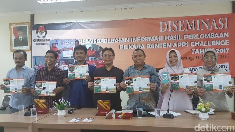 KPU Umumkan Lomba Aplikasi Pilkada Banten