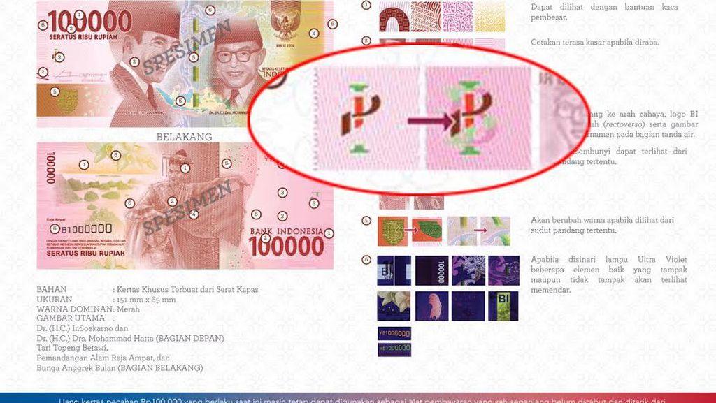 Penjelasan Gubernur BI dan Peruri Soal Tudingan Palu Arit di Rupiah