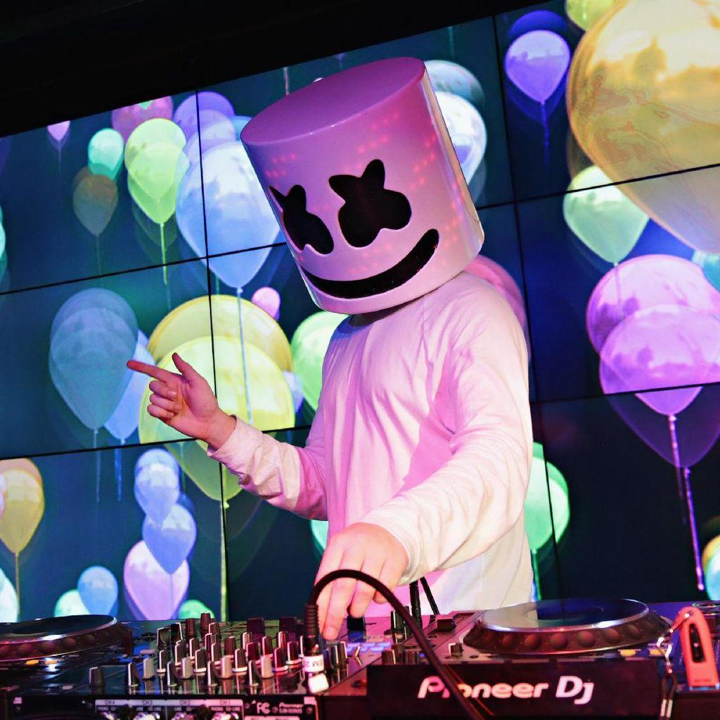 DJ Marshmello Ikut Ucapkan Selamat HUT Kemerdekaan RI