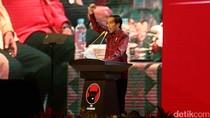 Jokowi Hadiri HUT PDIP